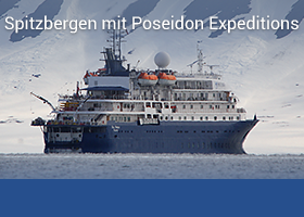 Spitzbergen mit Poseidon Expeditions
